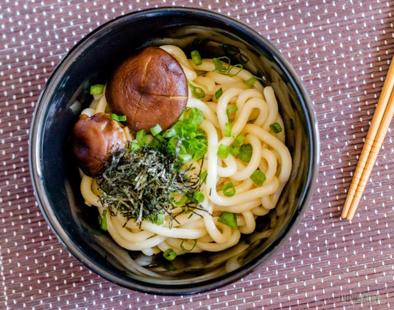 Boiled udon