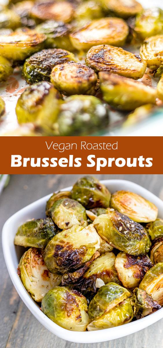 Under 30 mins recipe: Vegan Roasted Shredded Brussels Sprouts