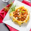 Royal Crown Fried Rice with Golden Omelette Stuffed Rice