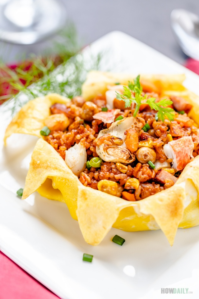 Royal Crown Fried Rice by How Daily