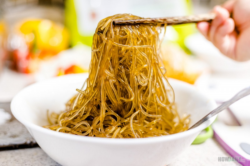 Sweet potato noodle