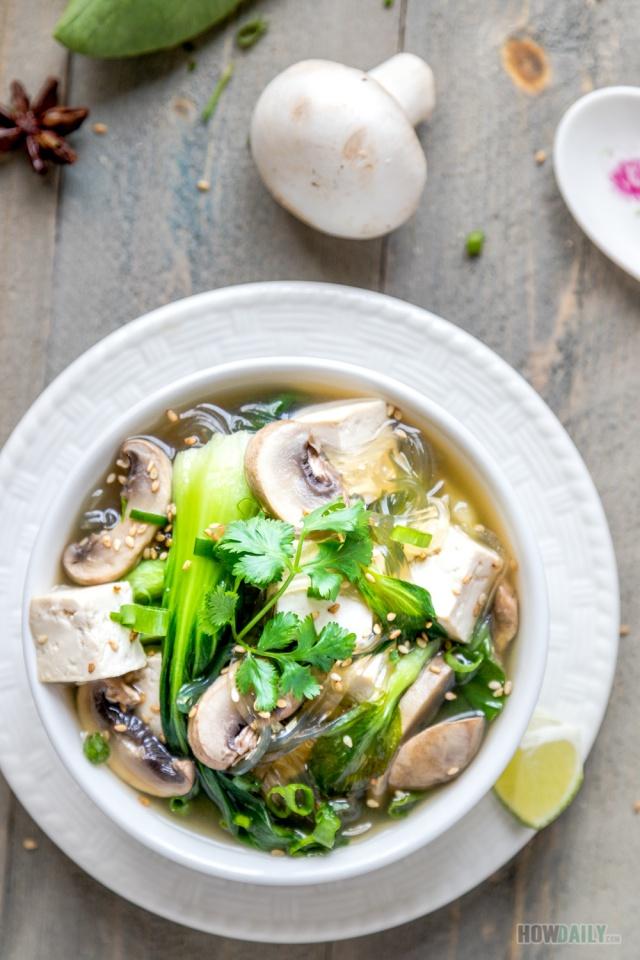 Baby Bok Choy Soup