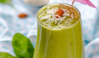 Diet smoothie with protein