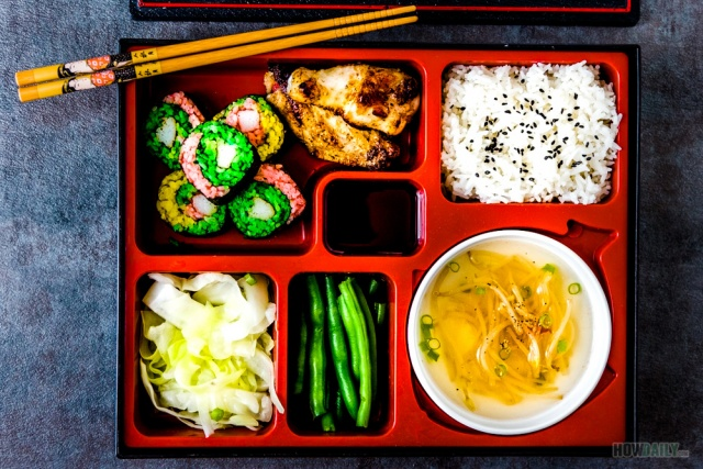 Food ideas for bento box