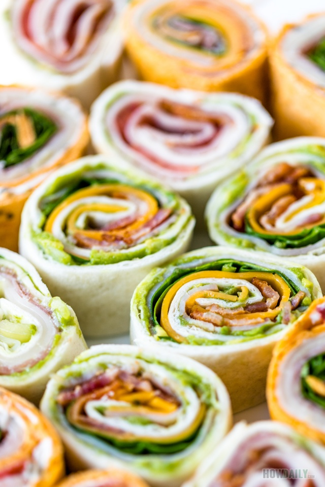 Easy recipe for Italian pinwheels