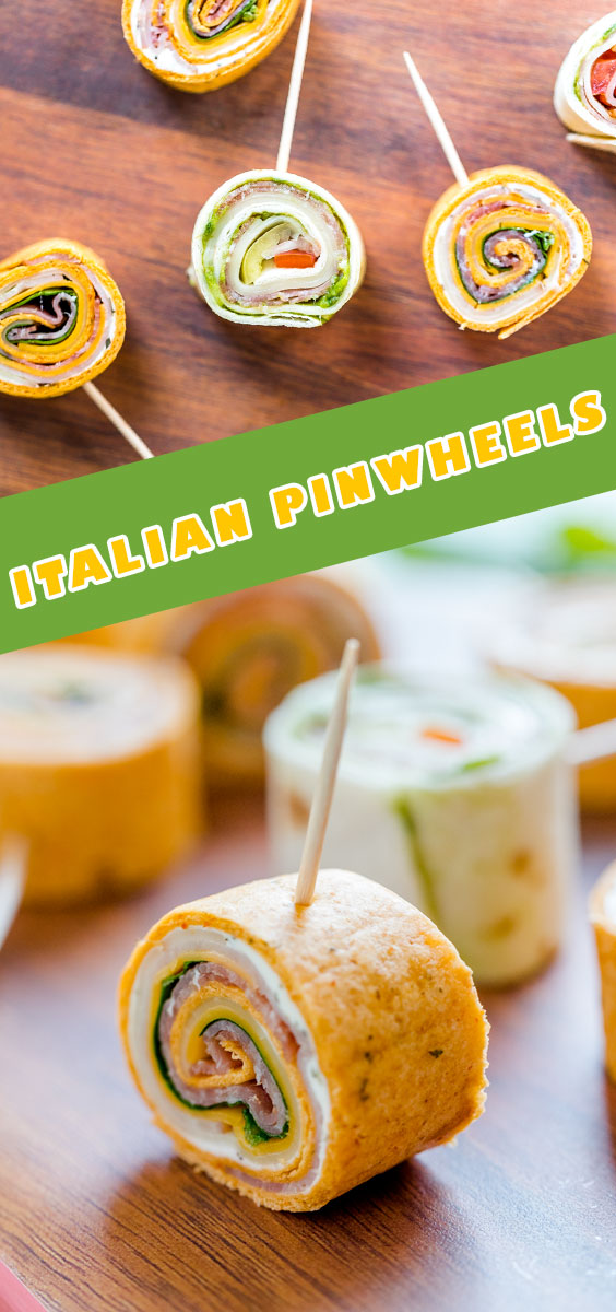 Easy & Delicious Italian Pinwheels with Cream Cheese | Recipe by How Daily
