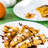 Pumpkin Crepes: Cinnamon, Spices and Pumpkin Cream Filling
