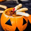 The Halloween Crock Pot: Slow Cook Beef Pumpkin Soup