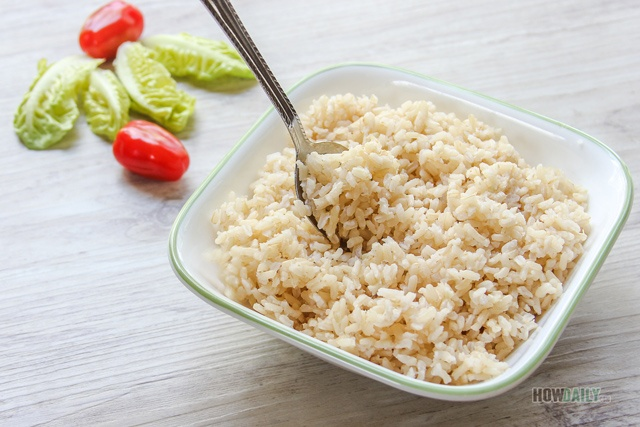 Brown rice is a sushi rice substitution