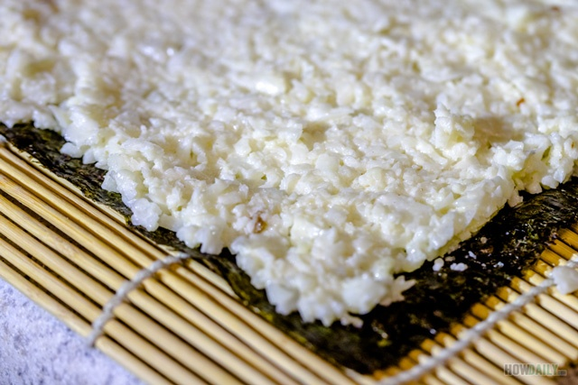 Cauliflower sushi rice