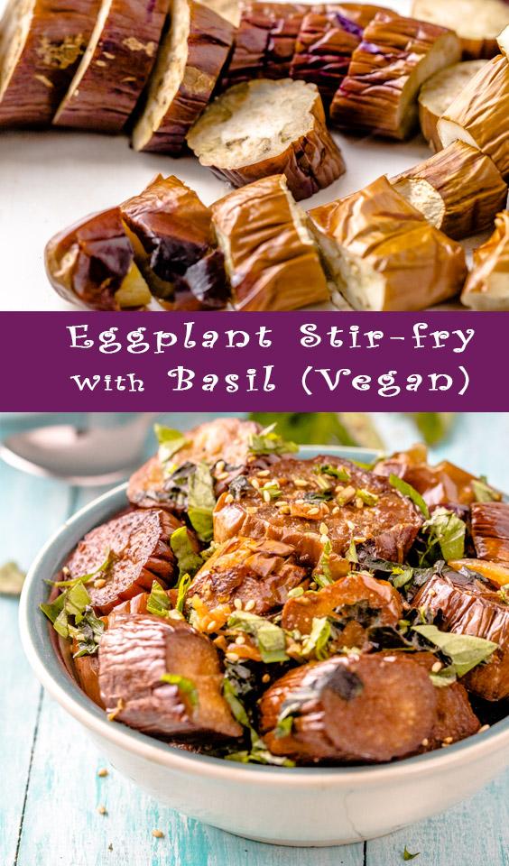 Vegan Recipe: Eggplant Stir-fry With Basil