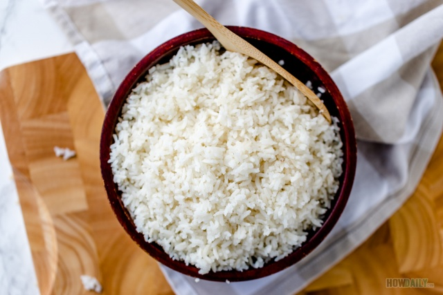 Regular long grain white rice