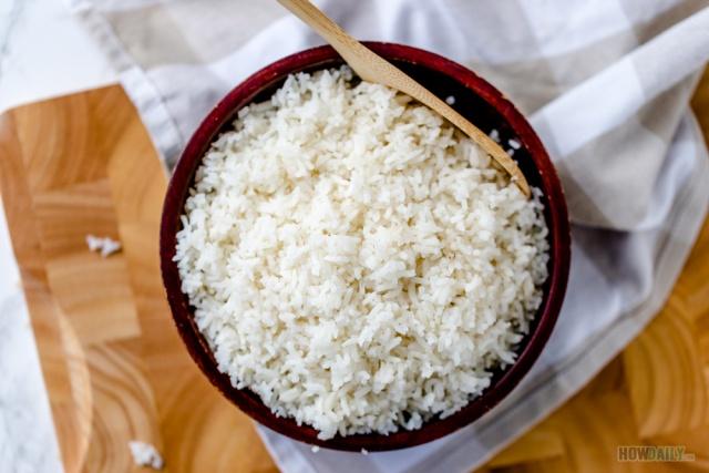 Regular long grain white rice