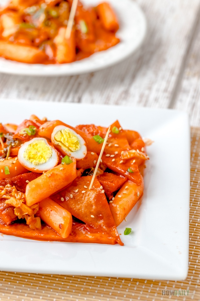 Spicy Tteokbokki is the perfect snack or main parties or any spicy fans