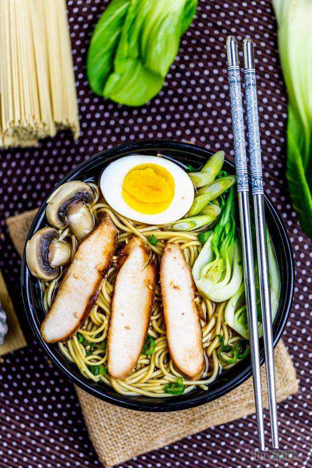 Easy Recipe for Japanese Chicken Ramen