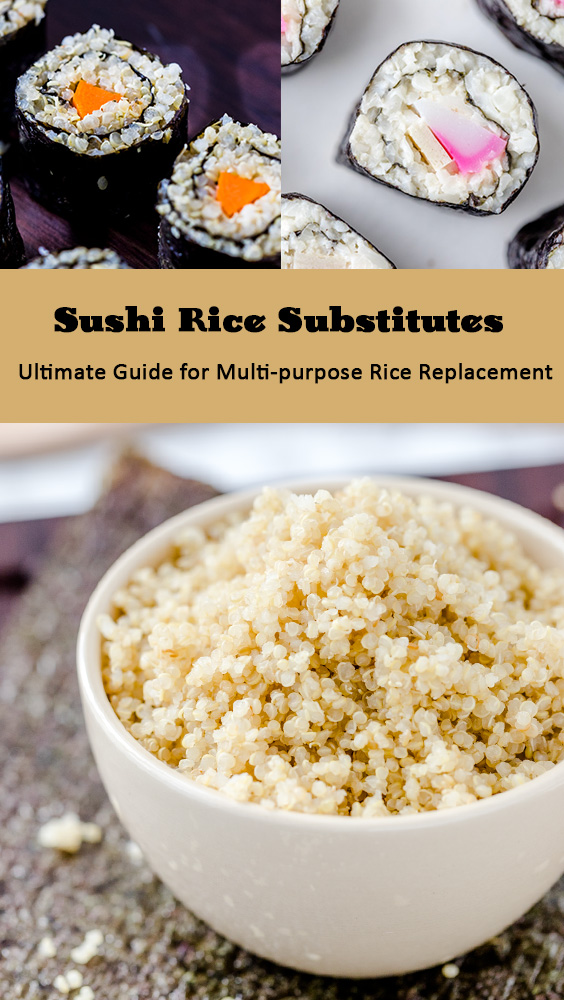 The Ultimate Guide for Sushi Rice Substitutes
