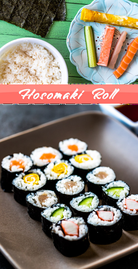 Recipe for Hosomaki Rolls