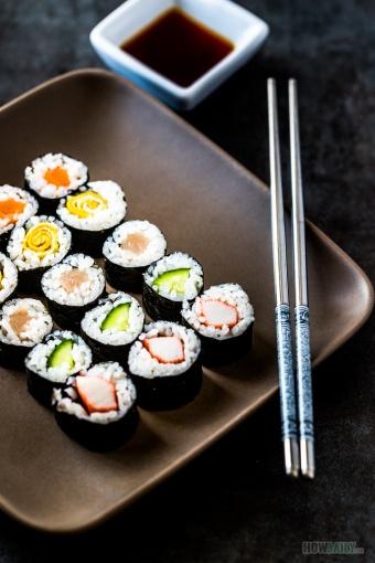 Hosomaki sushi roll