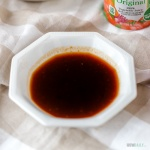 Recipe for yakisoba sauce