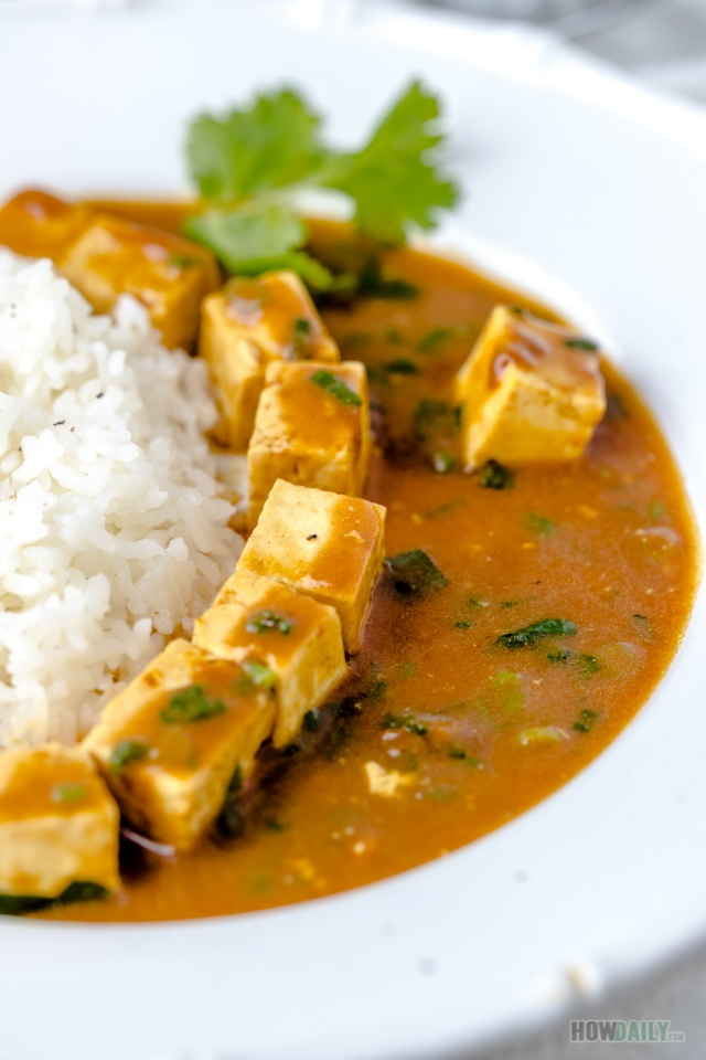 Japanese tofu curry