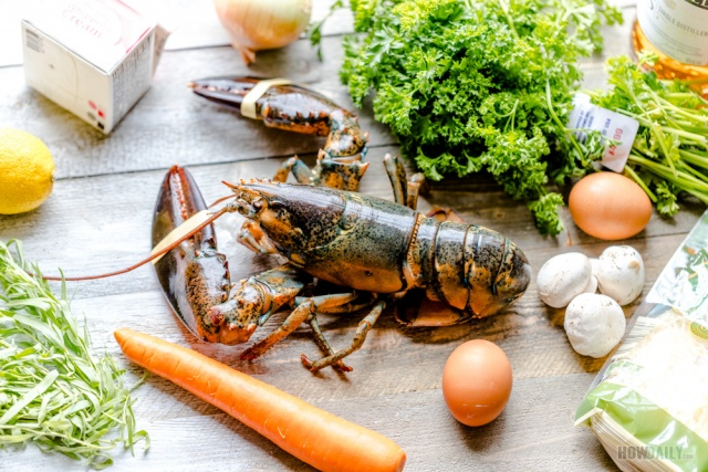 Lobster thermidor ingredients
