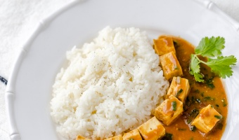 Simple tofu curry