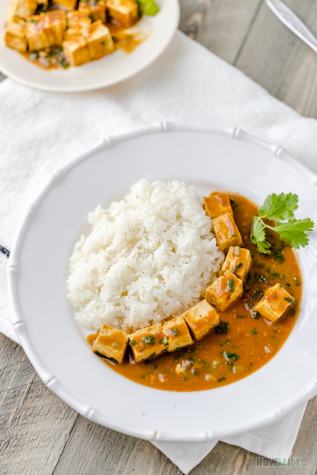 Simple Vegan Tofu Curry Recipe Japanese Style
