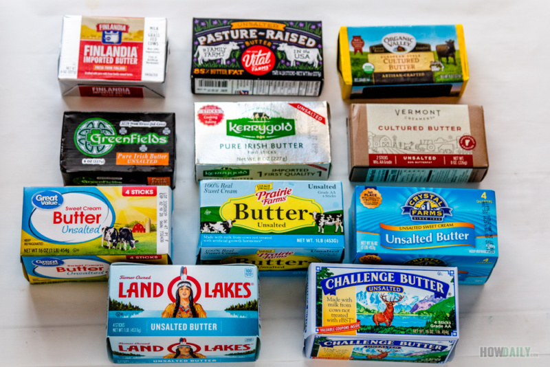 11 popular unsalted butter brands