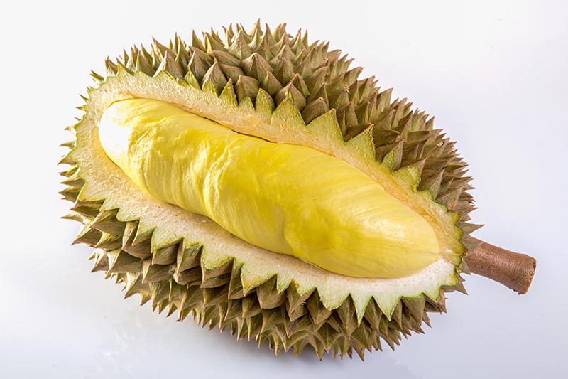 Inside a Durian
