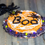 Itsy bitsy Spider cake for Halloween