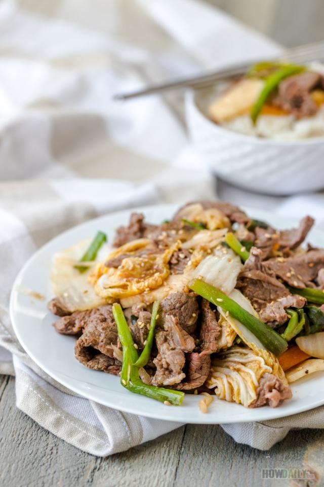 Kimchi Beef stir-fry Recipe