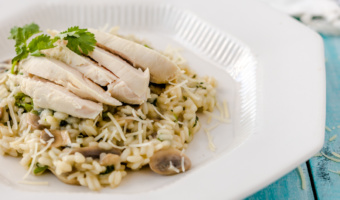 Easy chicken risotto recipe