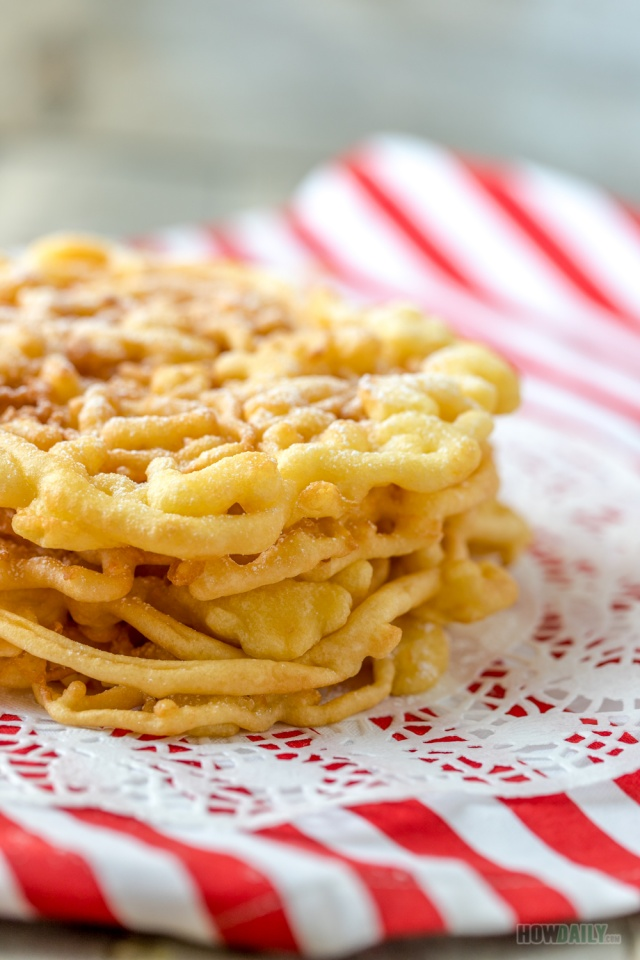 Easy recipe for Funnel Cake