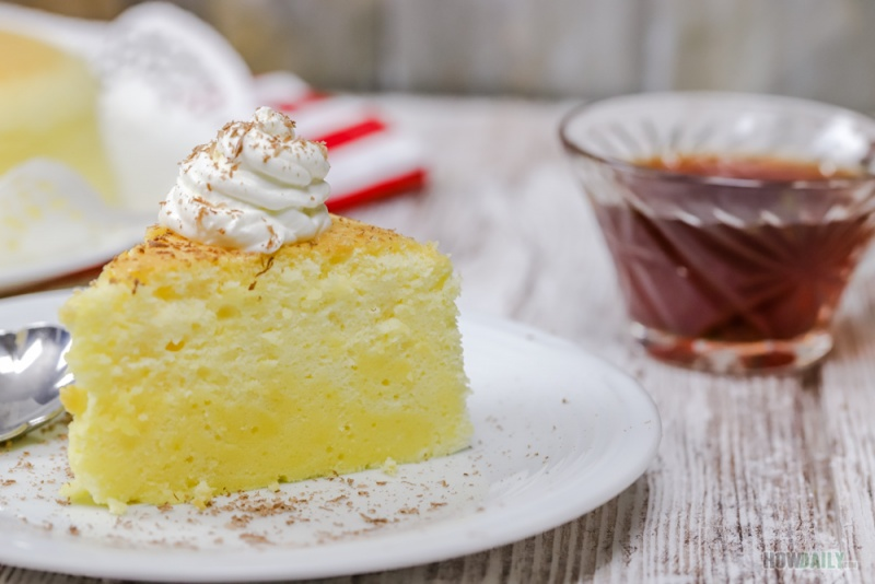 Cotton Cheesecake is perfect for tea party