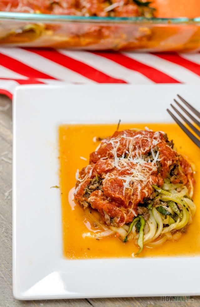 Grain-free Zucchini casserole
