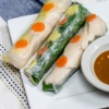 Chicken Mango Salad Rolls