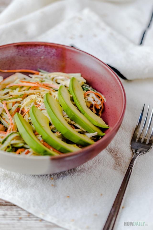 Mango Kani Salad Recipe