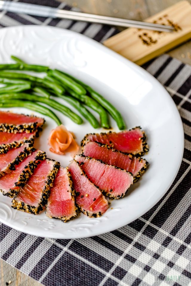 Light  Seared Tuna