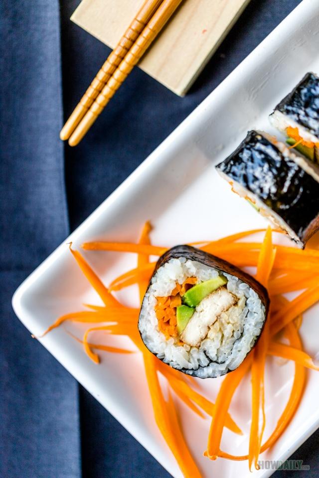 Tofu Sushi Roll Recipe