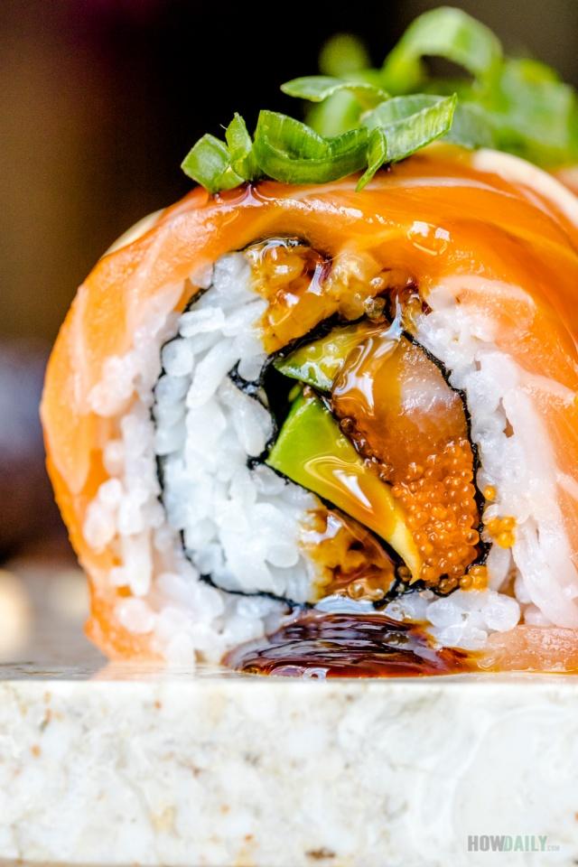 Inside Salmon Roll